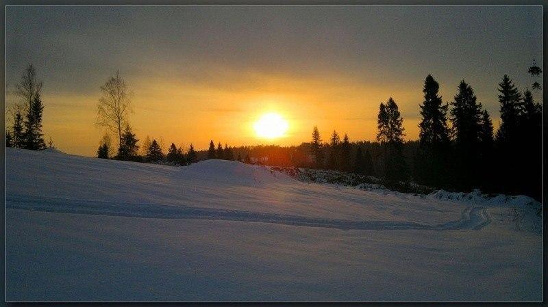 Подмосковная зима.