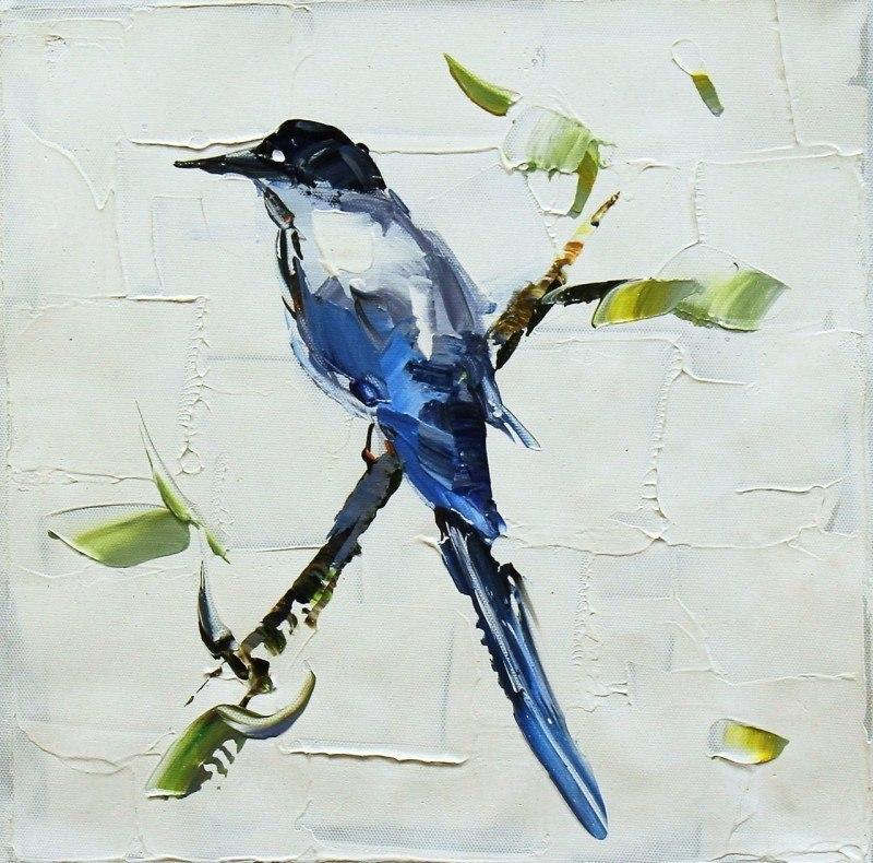 Синяя птица счастья N2, серия Птицы
