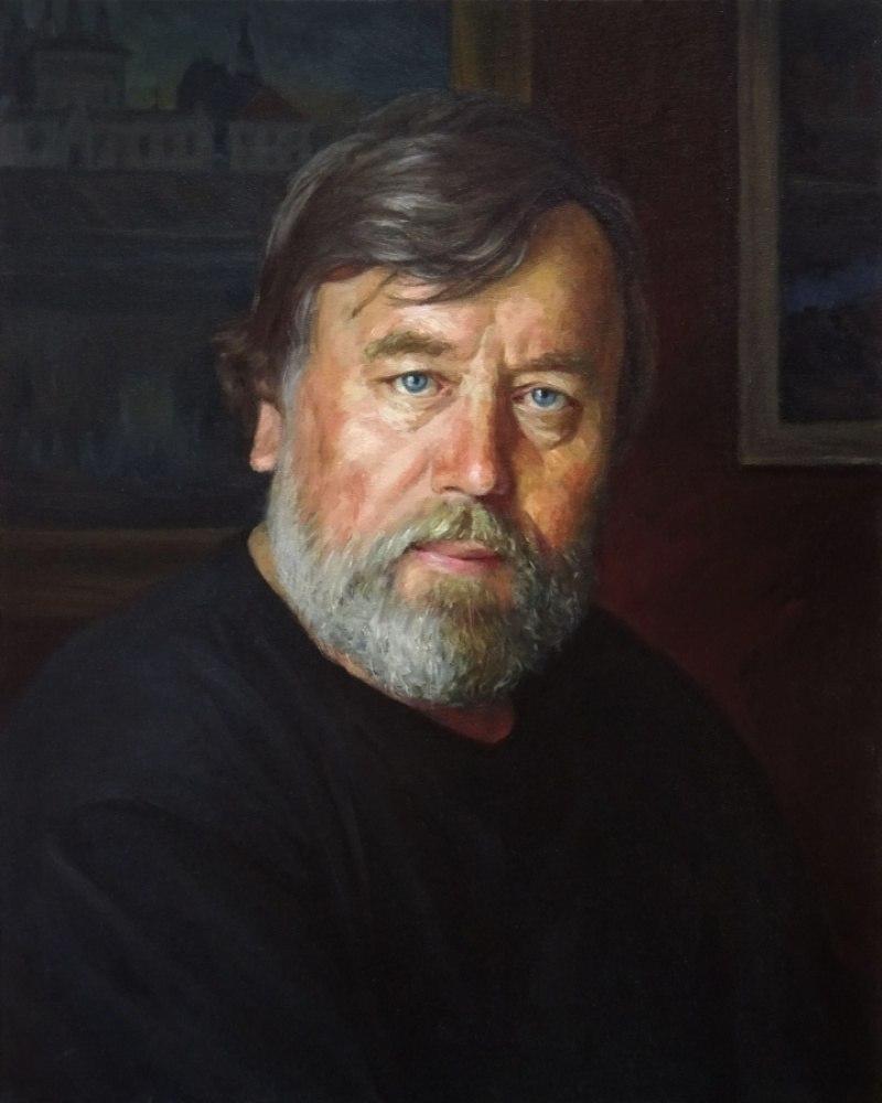 Портрет художника Н.И. Облупина