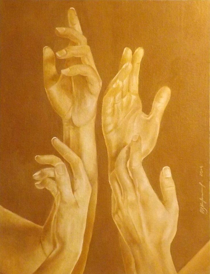 Натюрморт с руками