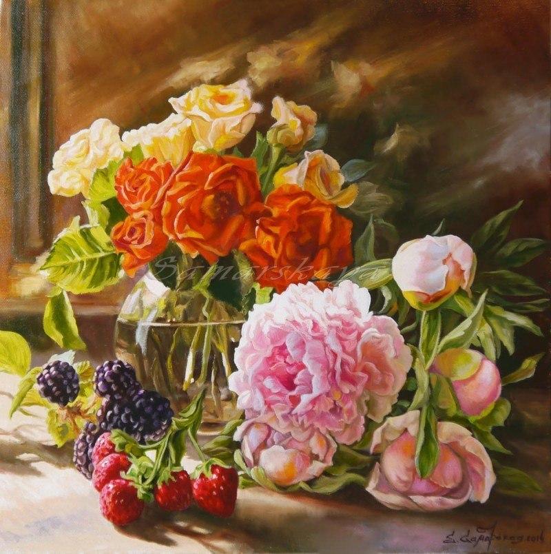 Цветочно - ягодное