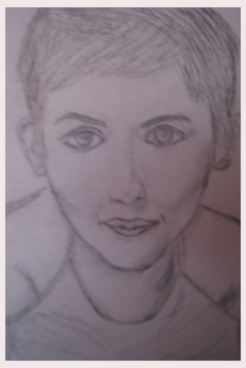 Портрет Одри Тату