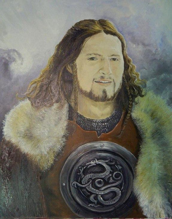 Портрет викинга