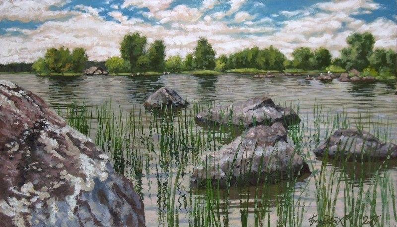Озеро Вуокса.