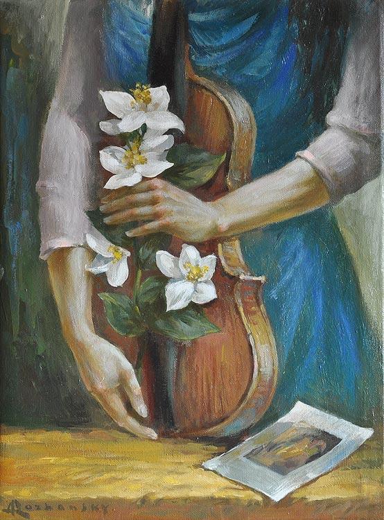 Rozhansky.with a viola.