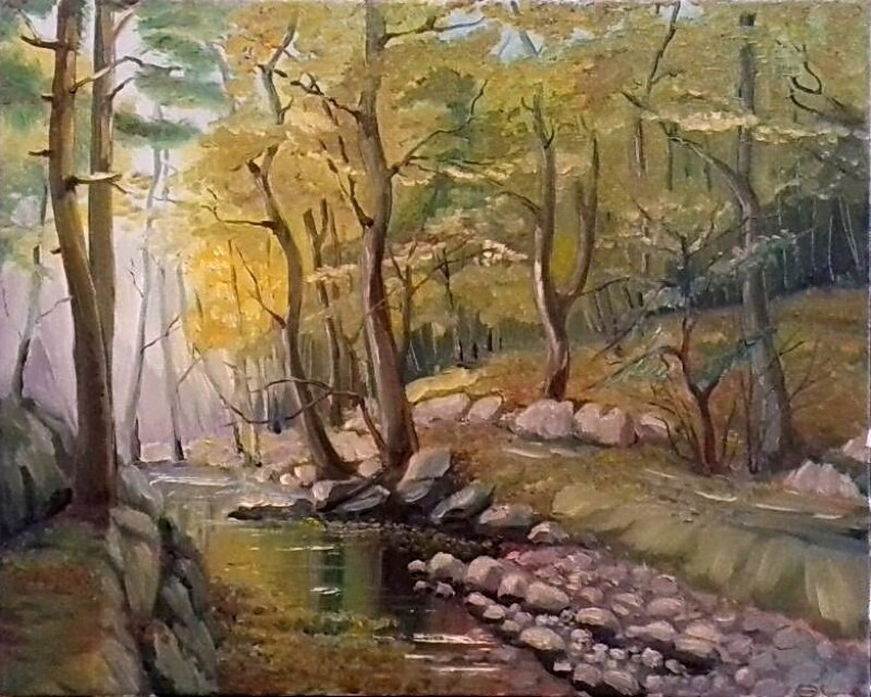 Серебренный ручей Сары-Узень