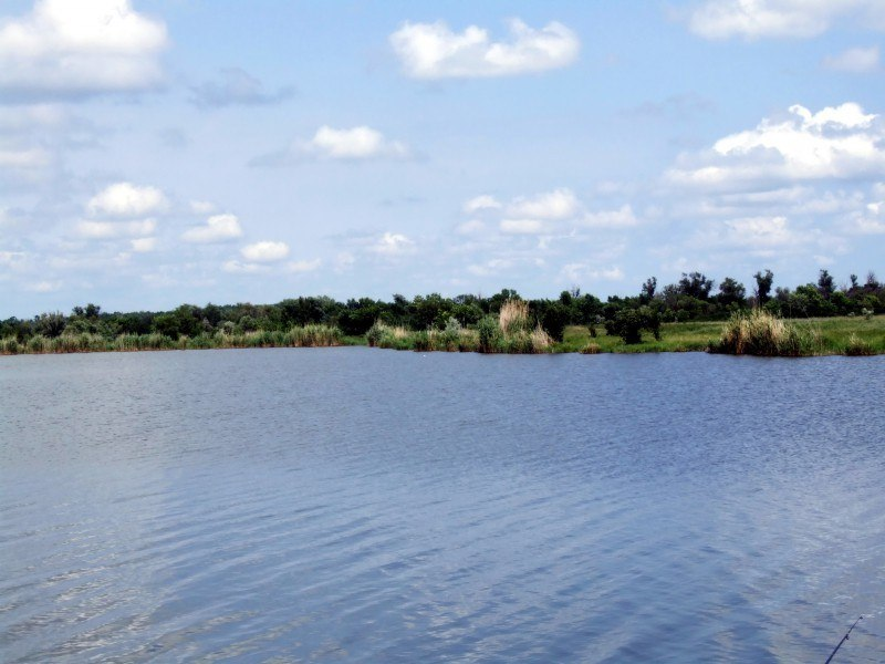 Озеро.