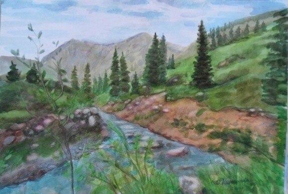 Устье Талгар