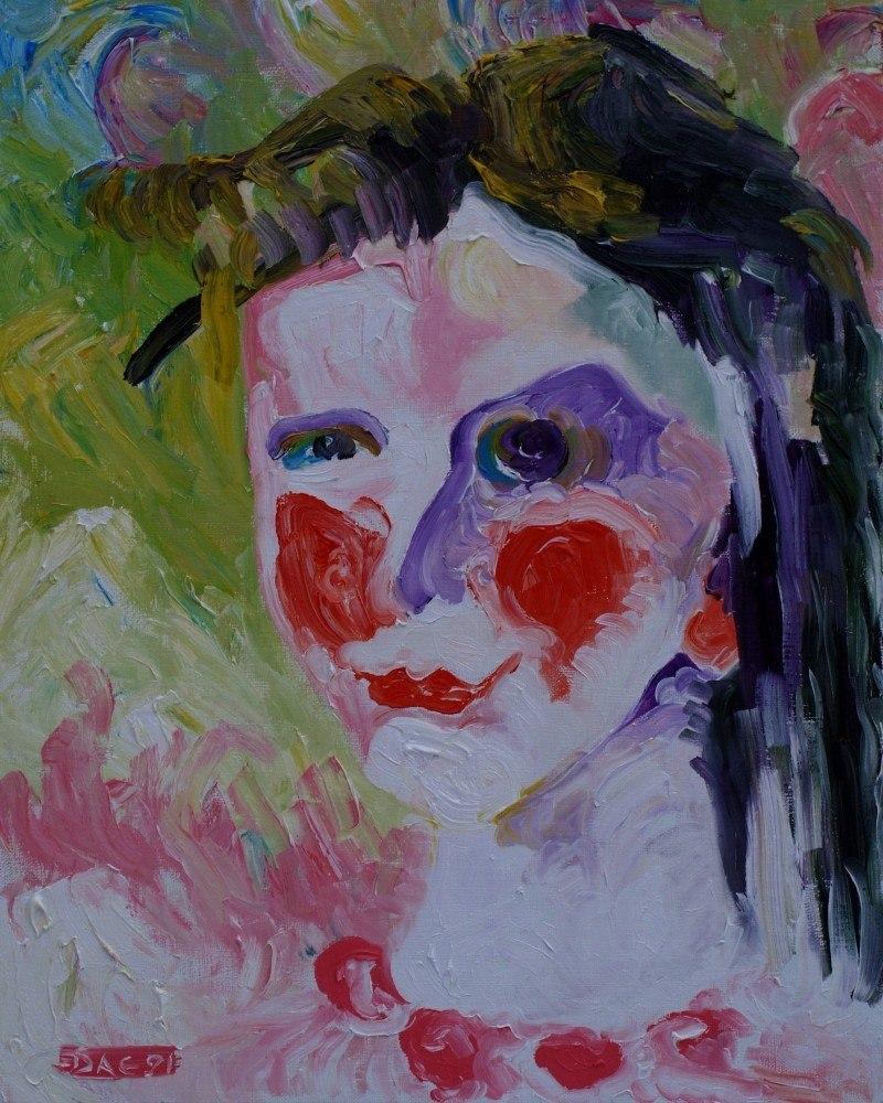 Портрет дочери (Юлия).