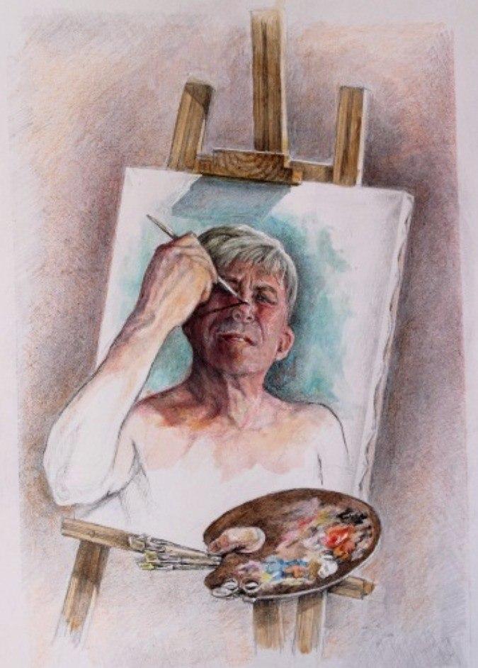 Автопортрет  Дориана Грея