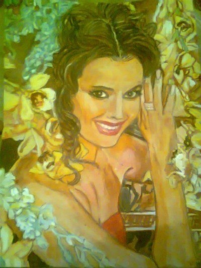 Девушка в цветах Оксана Федорова