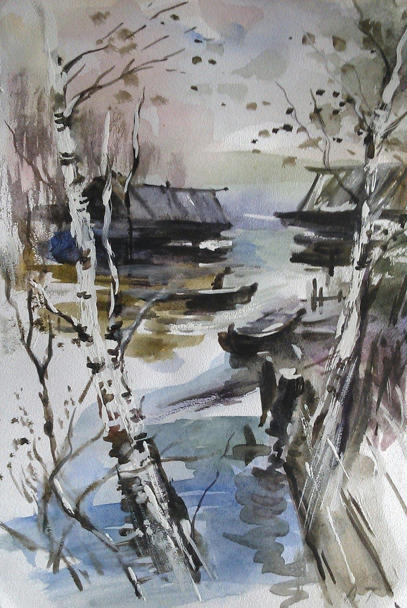 весенние реки