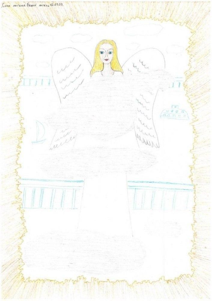 Сонм ангелов. Белый ангел