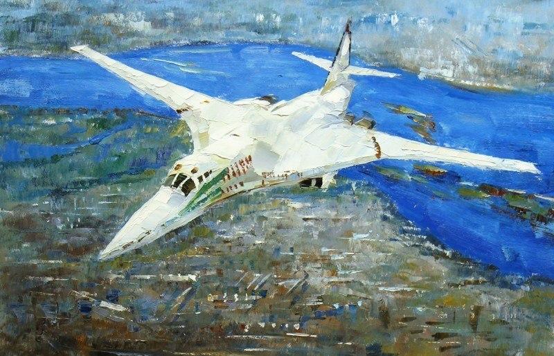Белый лебедь. Ту-160 (Серия Самолеты)
