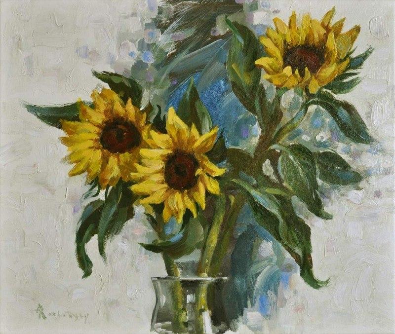 Rozhansky.Sunflowers.