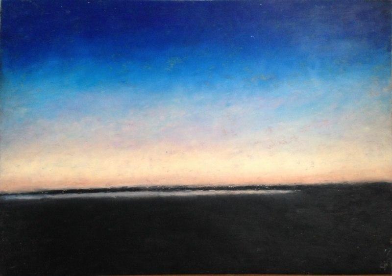 вечер над заливом