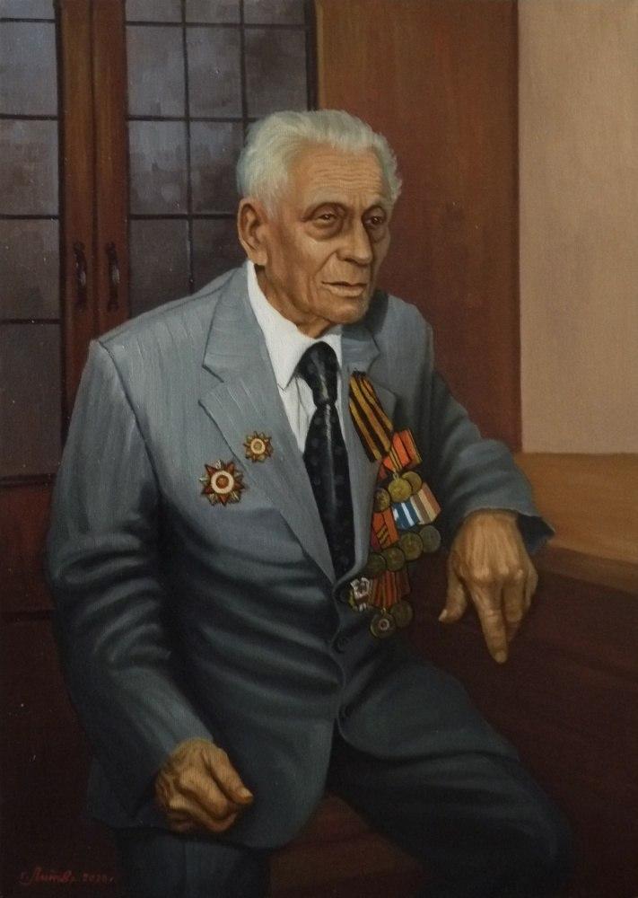Ветеран ВОВ Гончаров М.В.