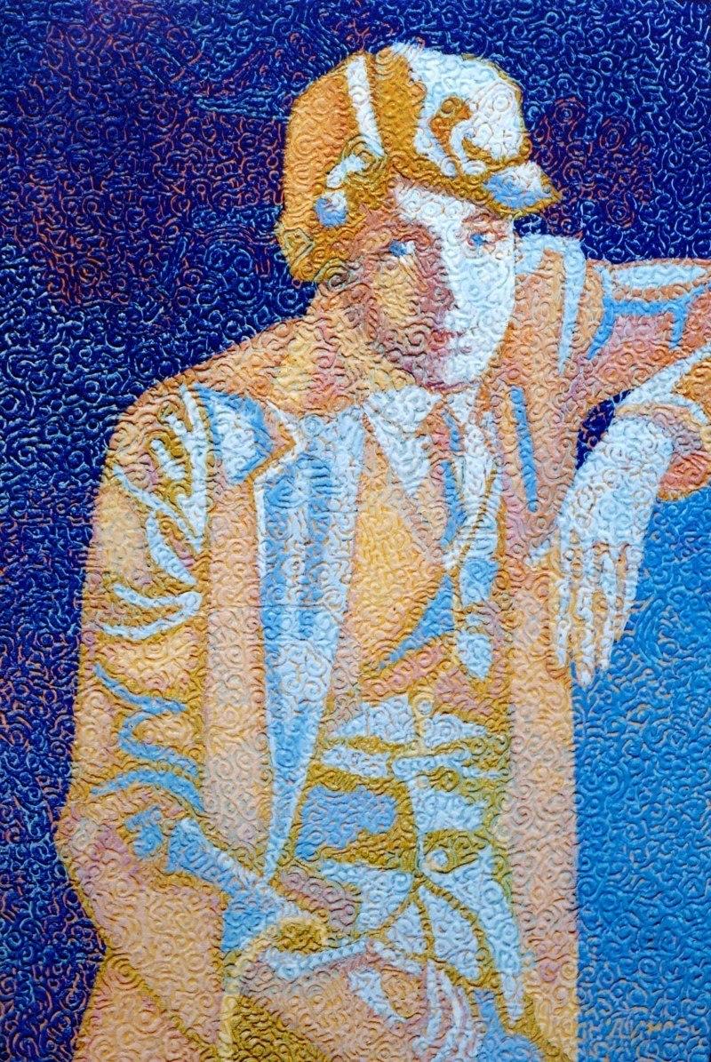Несказанное, синее, нежное... Портрет С. Есенина