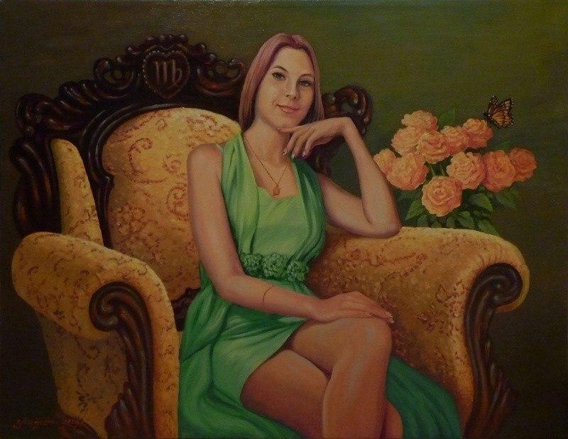 Портрет Екатерины Касиновой