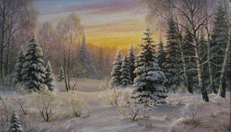 зимний вечер