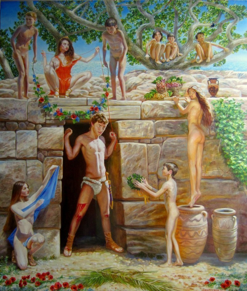 Тесей и Ариадна