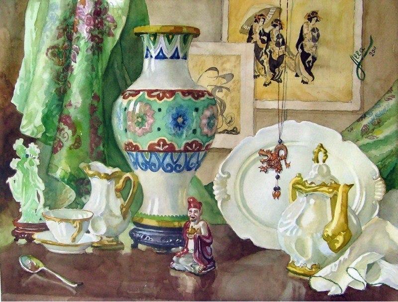 Чайная церемония. Китай