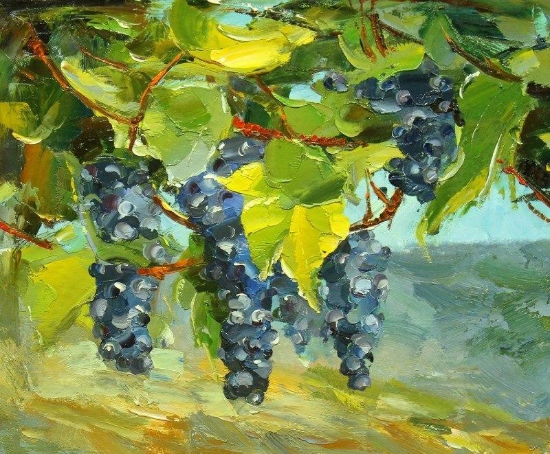 Виноградная лоза. Красное N2