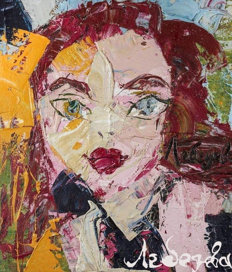 Игра с зеркалом Екатерина Лебедева художник