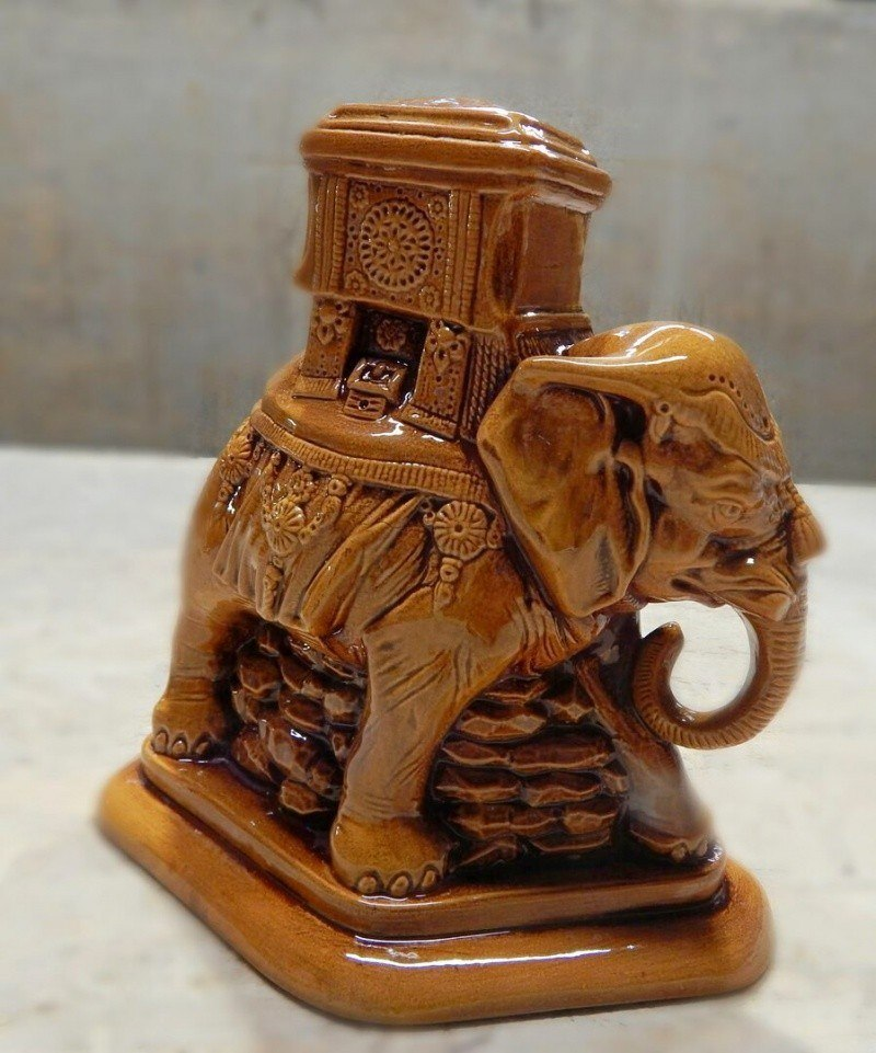 """Керамический сувенир """"Индийский слон"""""""