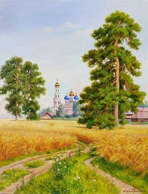 За полем пшеничным родная сторонка
