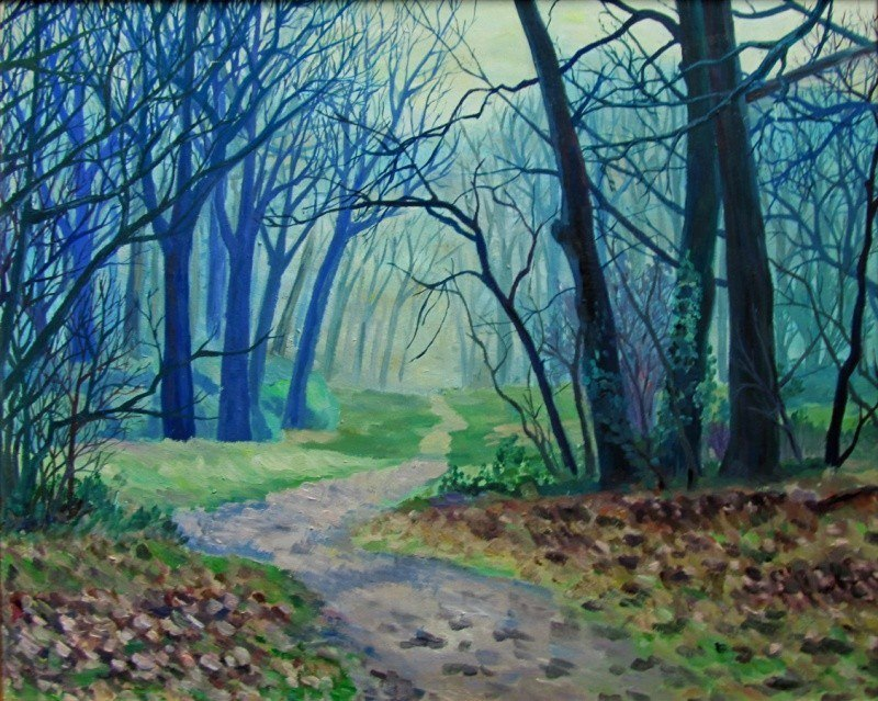 Сапфировый лес