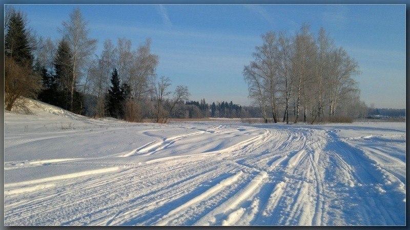 Дороги зимы ..
