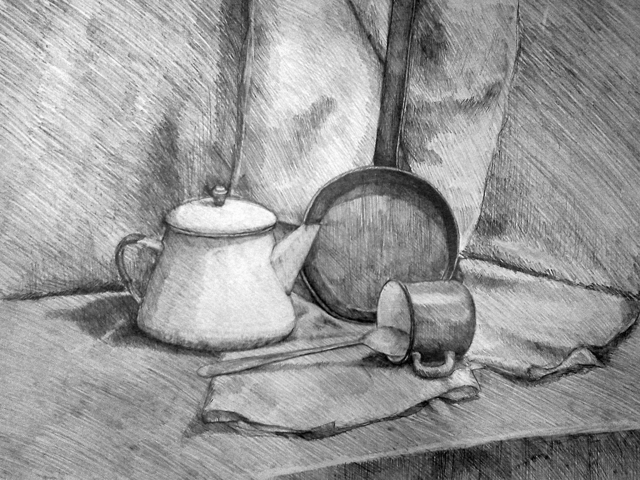 натюрморт рисунок:
