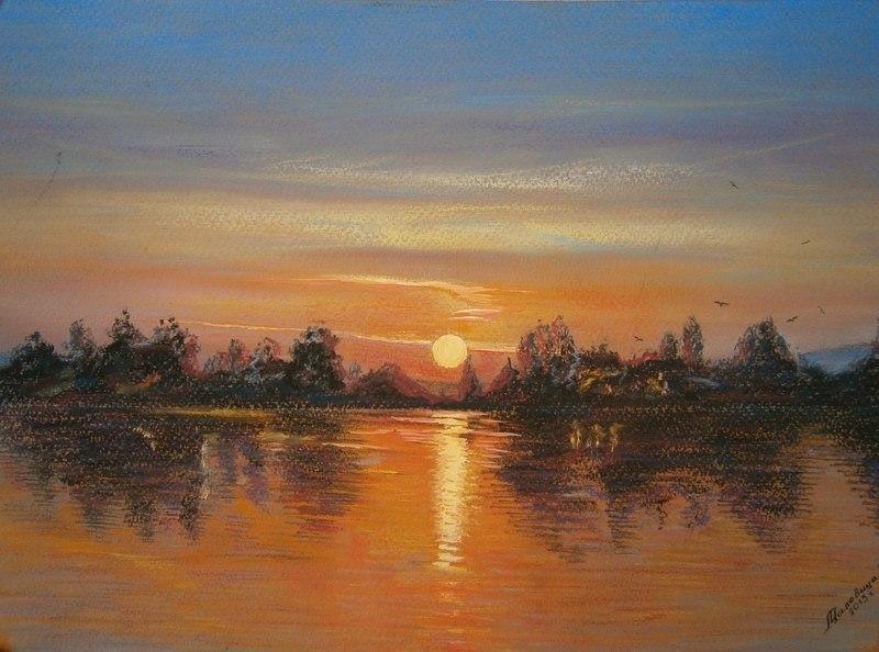 Ночь на реке