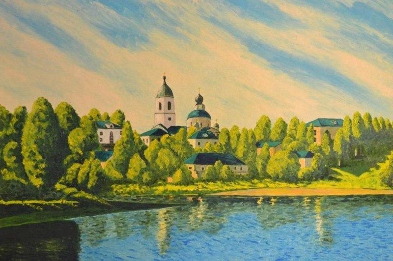 Пушкино. Пруд у Екатерининского дворца