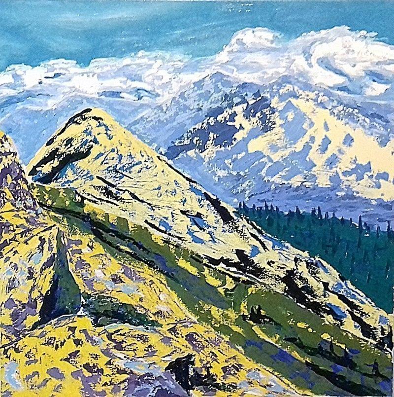 Вид с горы Близница