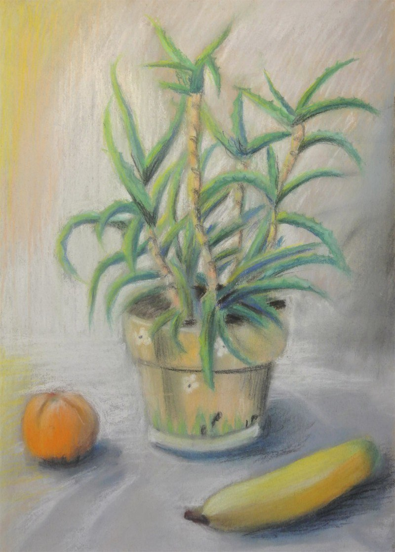 Натюрморт с бананом