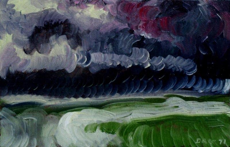 Морской пейзаж. Перед штормом.
