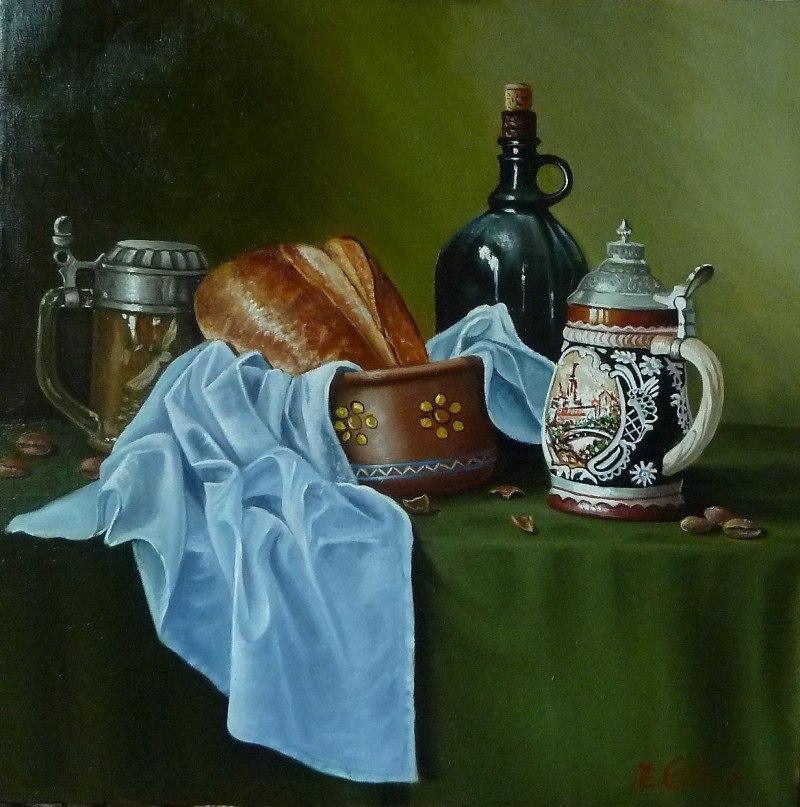 ,,натюрморт с хлебом,,