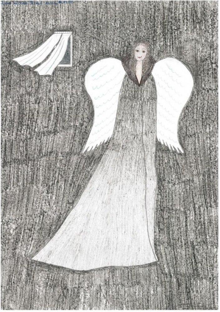 Сонм ангелов. Чёрный ангел