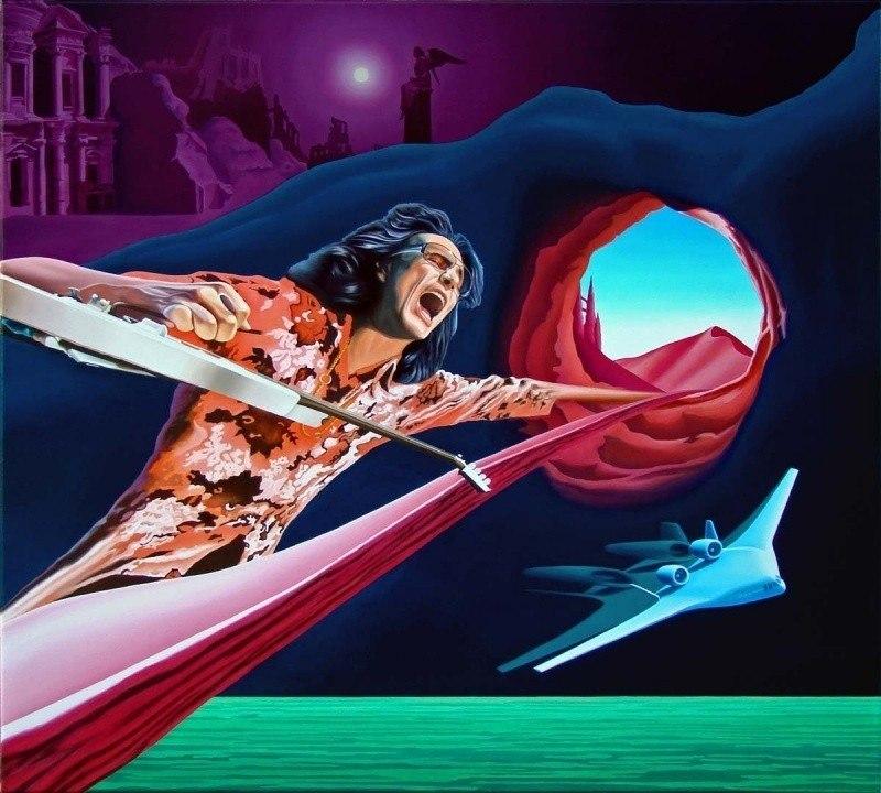 Gravity Storm - Steve Vai Замрите ангелы - смотрите я играю.