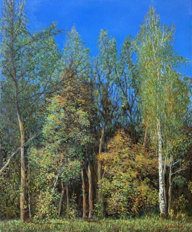 Осенний лес в парке Покровское-Стрешнево
