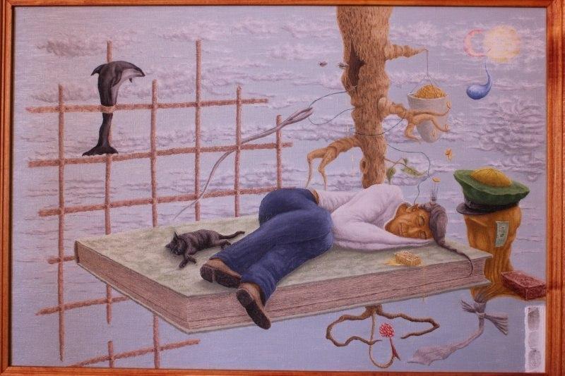 Реинкарнационное путешествие в прочитанном сне, перед произрастающим смысловым женьшенем