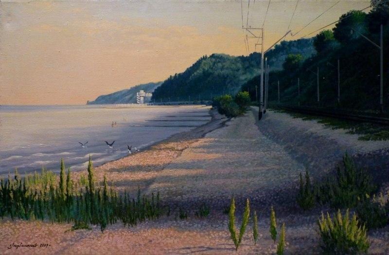 Море. Начало дня