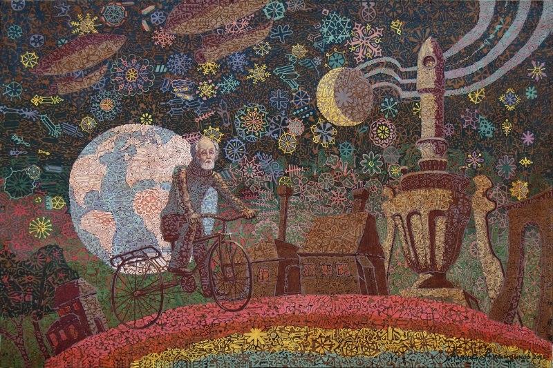 «Вдоль по радуге» из диптиха «Миры Циолковского»
