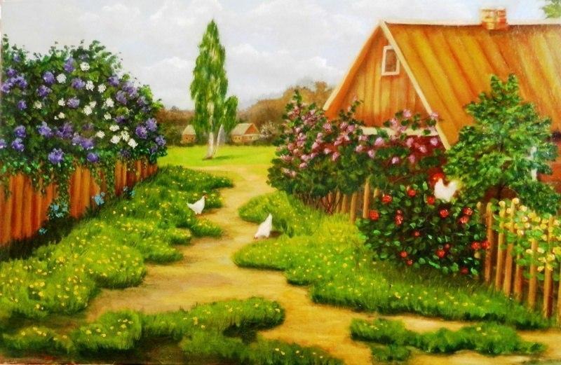 сельский рай