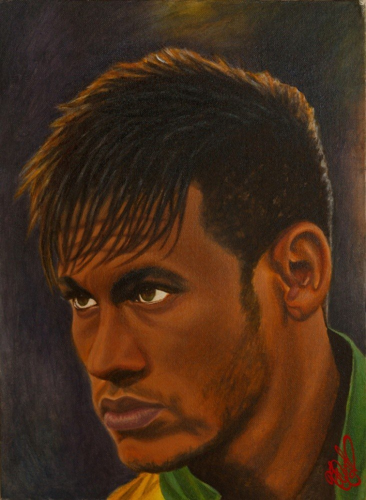 Neymar Jr. portrait