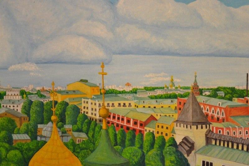 Ярославль. Городские крыши