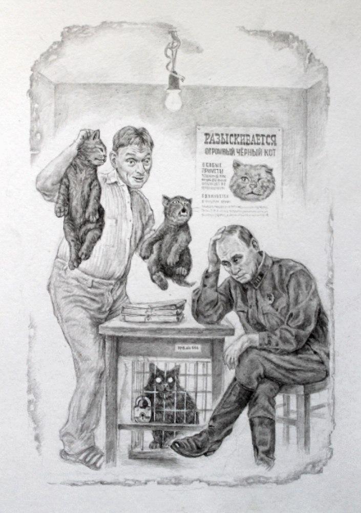 Задержание подозрительных котов