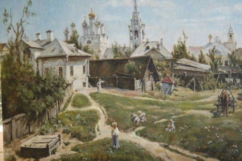 """Копия  """"Московский дворик"""""""
